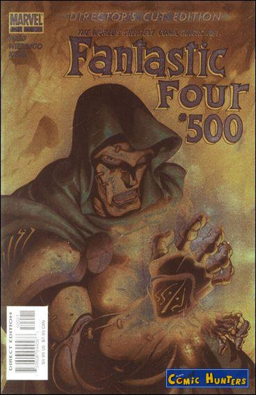 comic cover Fantastic Four (Director's Cut Edition) 500