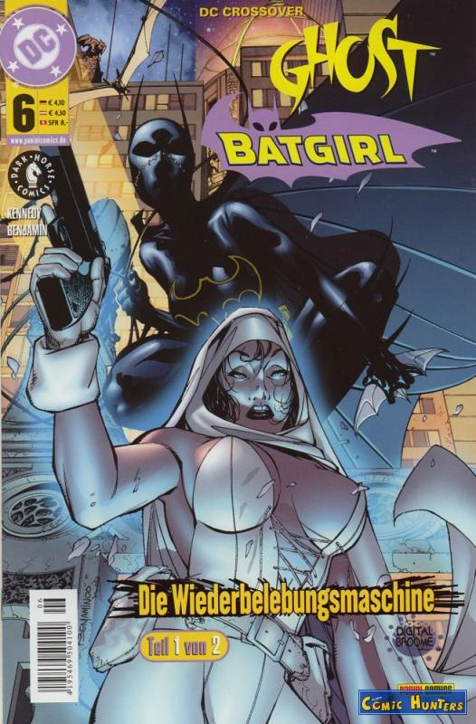 comic cover Ghost / Batgirl (1 von 2) 6