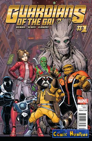 comic cover Guardians of the Galaxy 1