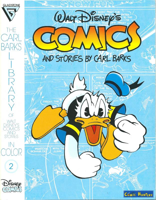 comic cover Comics and stories by Carl Barks 2