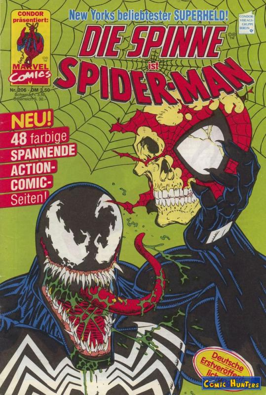 comic cover Die Spinne Magazin 206