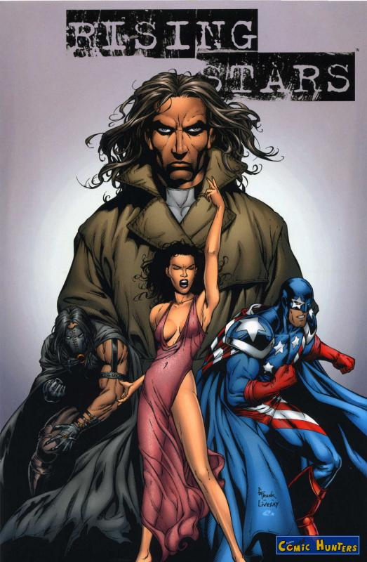 comic cover Rising Stars (Variant Cover-Edition) 0