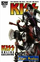 Kiss - Dressed to Kill (Cover RE-B Variant Cover-Edition)
