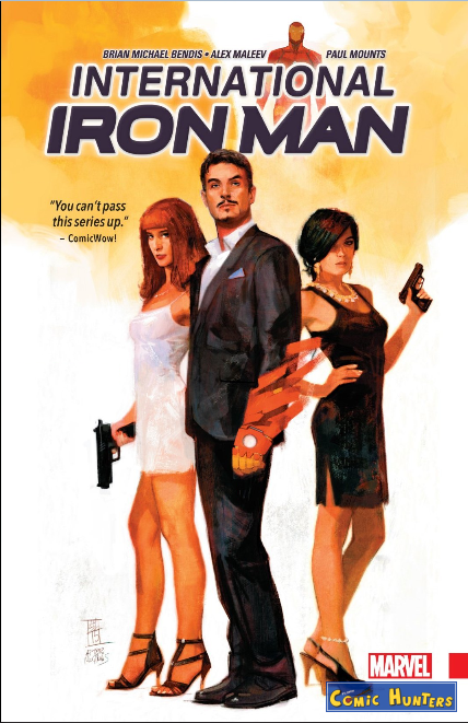 comic cover International Iron Man
