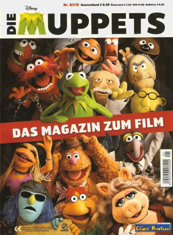 comic cover Die Muppets 01/12