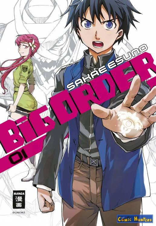comic cover Big Order 1
