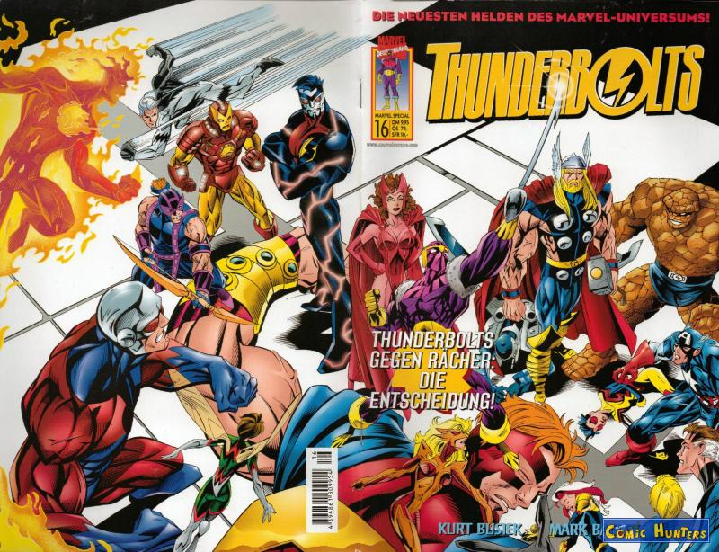 comic cover Thunderbolts (3) 16