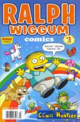 "Ralph Wiggum Comics (""""Ralph"" means throw up!"" Variant Cover-Edition)"