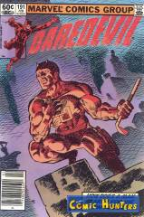 Thumbnail comic cover Daredevil 191