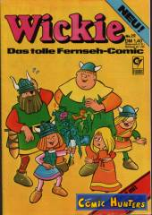 Thumbnail comic cover Wickie 29