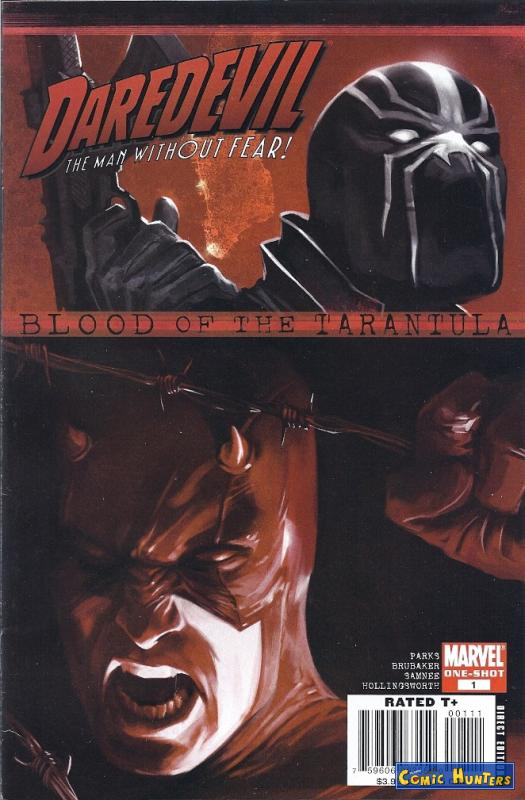 comic cover Blood Of The Tarantula 1
