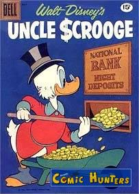 comic cover Uncle Scrooge 33