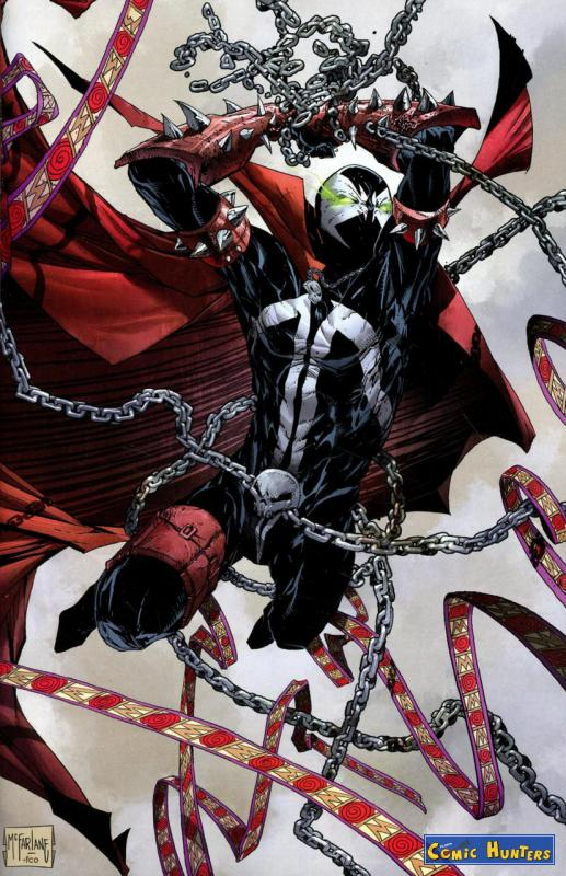 comic cover Spawn (Cover B) 293