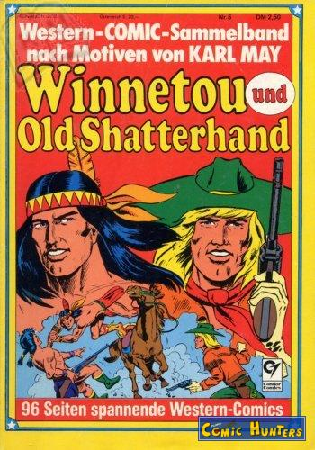 comic cover Winnetou & Old Shatterhand Western-Comic-Sammelband 5