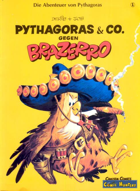 comic cover Pythagoras & Co. gegen Brazerro 1