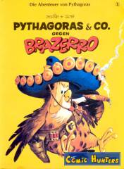 Thumbnail comic cover Pythagoras & Co. gegen Brazerro 1