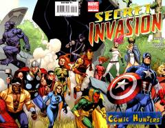 Secret Invasion (2nd printing Variant Cover-Edition)