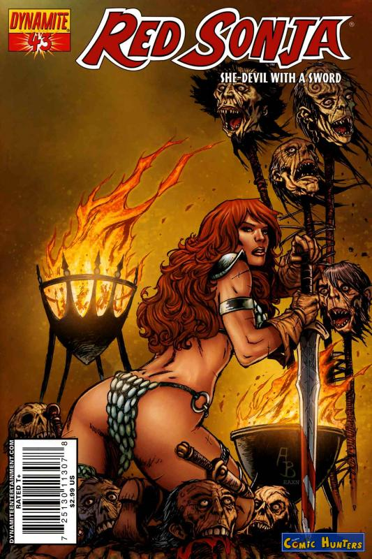 comic cover Red Sonja  43