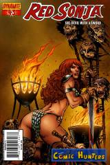 Thumbnail comic cover Red Sonja  43