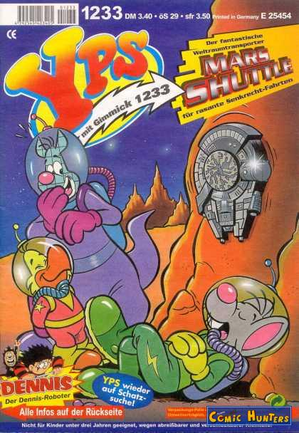 comic cover Yps 1233