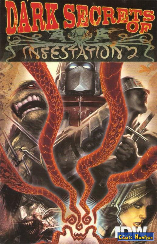 comic cover Dark Secrets Of Infestation 2 (Ashcan)