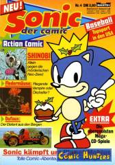 Thumbnail comic cover Sonic 4