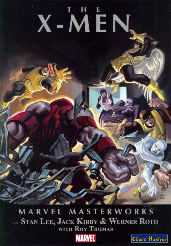 comic cover The X-Men 2