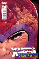 Thumbnail comic cover Uncanny X-Men (Land Variant) 3