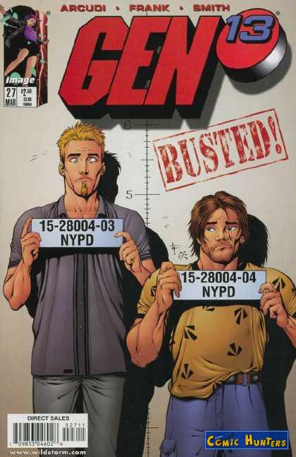 comic cover Search and Seizure 27