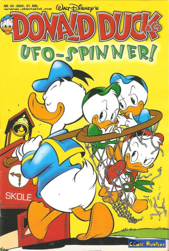 comic cover UFO-Spinner! 34