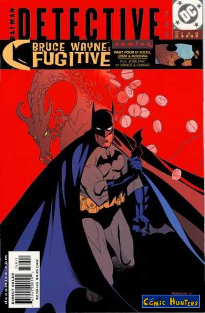 comic cover Detective Comics 769