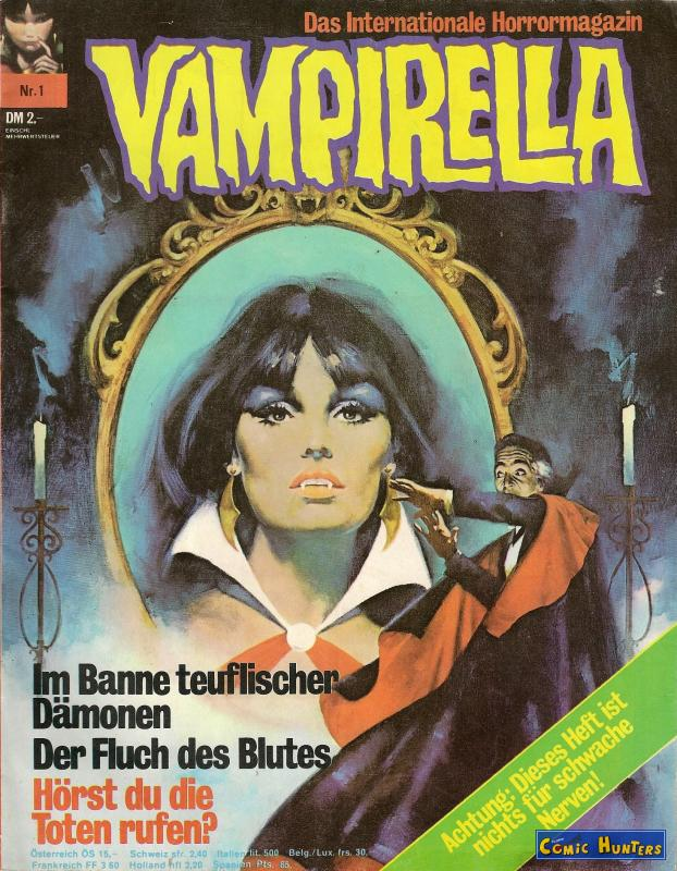 comic cover Vampirella 1