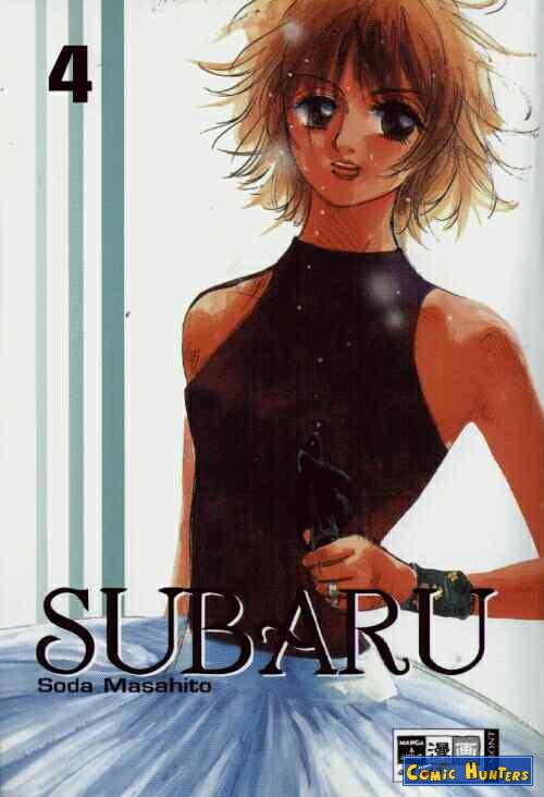 comic cover Subaru 4