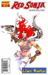 Red Sonja (Stephwn Sadowski Cover)