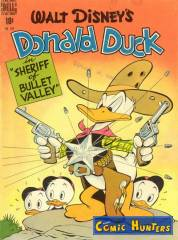 "Donald Duck in ""Sheriff of Bullet Valley"""