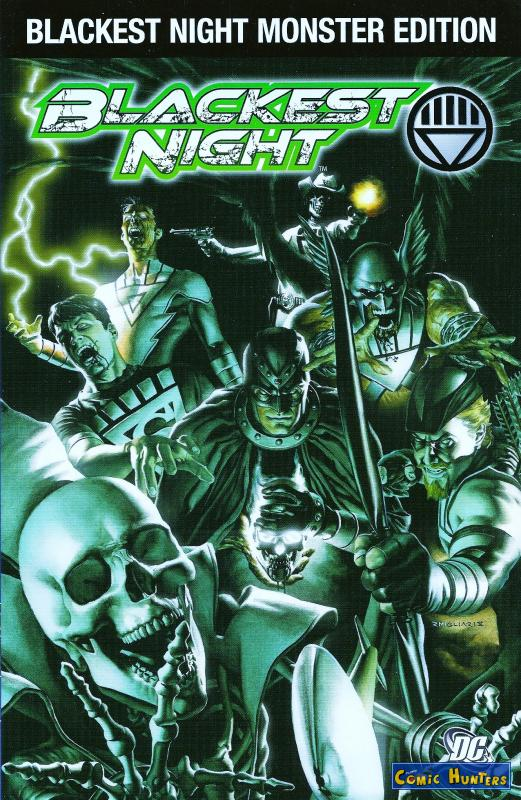 comic cover Blackest Night 1