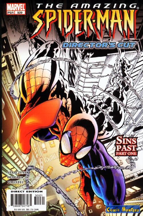 comic cover The Amazing Spider-Man (Director's Cut) 509