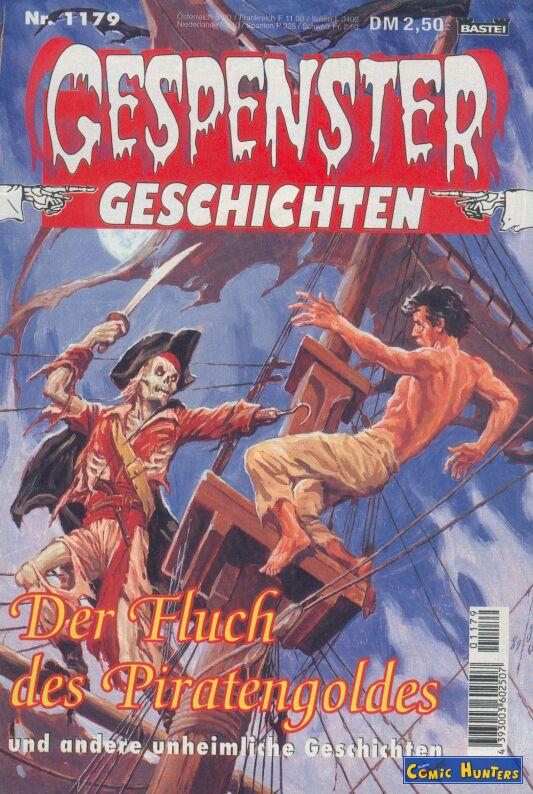 comic cover Der Fluch des Piratengoldes 1179