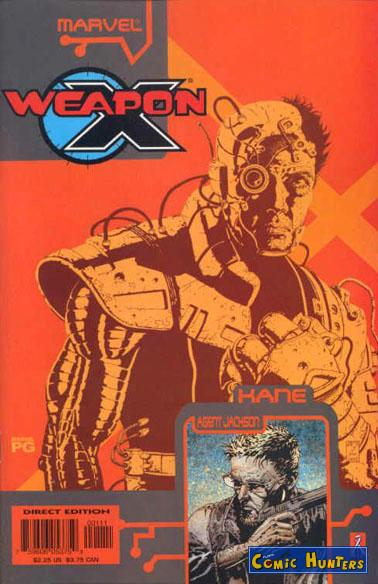 comic cover Weapon X: The Draft - Kane 1
