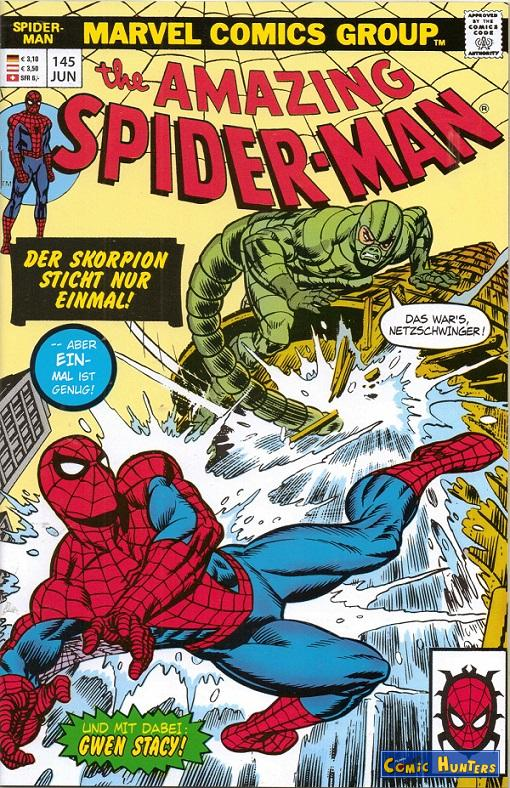 comic cover The Amazing Spider-Man 145
