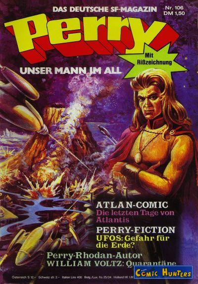 comic cover Perry unser Mann im All 106