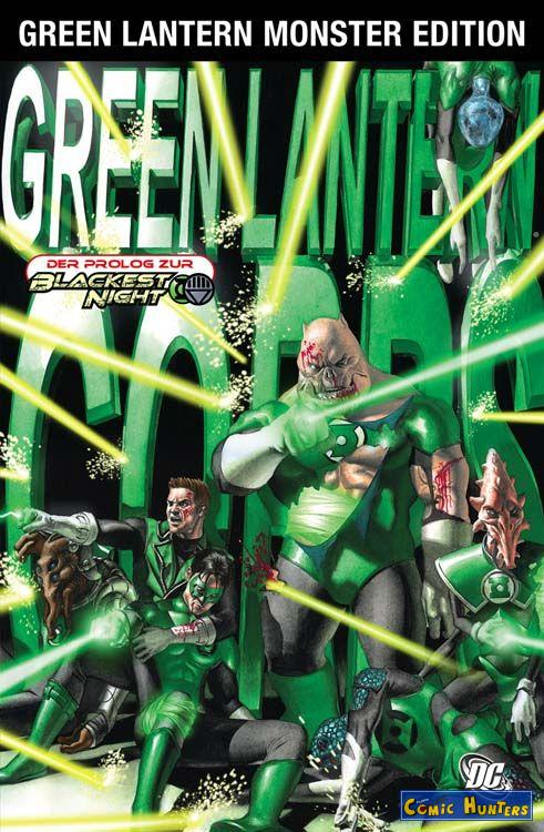 comic cover Green Lantern Corps 2