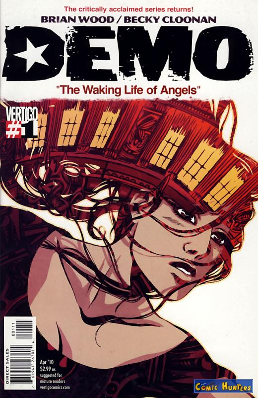 comic cover The Waking Life of Angels 1