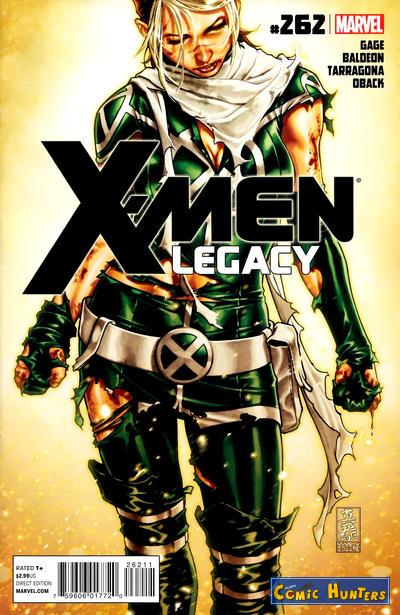 comic cover X-Men: Legacy 262