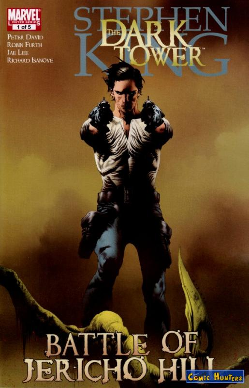 comic cover Dark Tower: The Battle of Jericho Hill 1