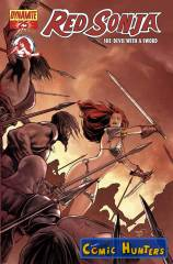 Red Sonja (Renaud Cover)