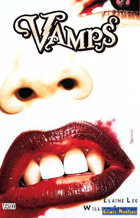comic cover Vamps