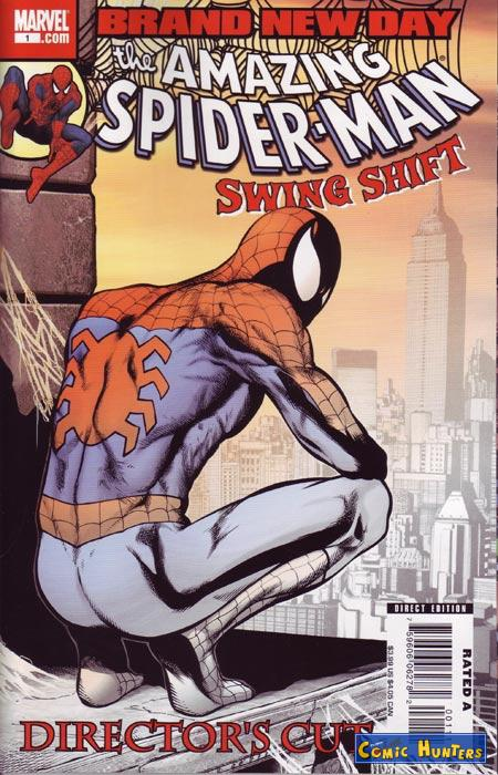 comic cover Spider-Man: Swing Shift (Director's Cut)