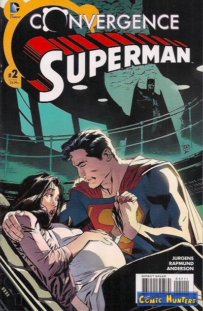 comic cover Convergence Superman 2