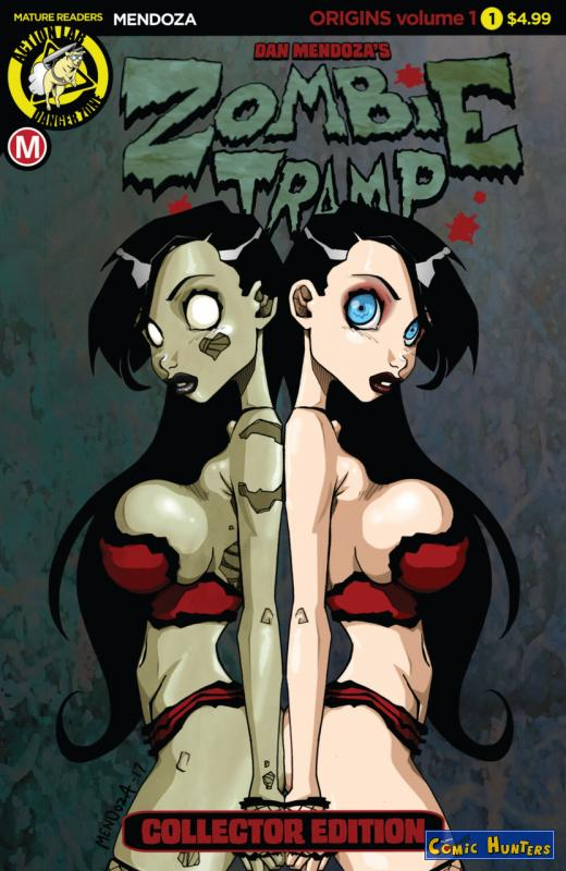 comic cover Zombie Tramp Origins: Volume 1 Collector Edition 1